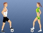 العاب ترقيص كرة القدم