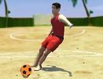 لعبة كرة القدم الشاطئية